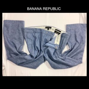 🐟BANANA REPUBLIC 12 Wool Cropped Trousers🐟